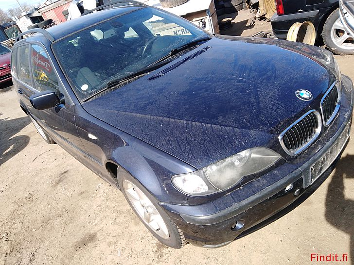 Myydään BMW 320 2,2 touring manuaali 2002 varaosina