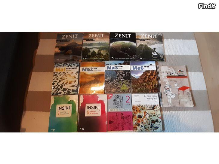 Säljes Gymnasieböcker