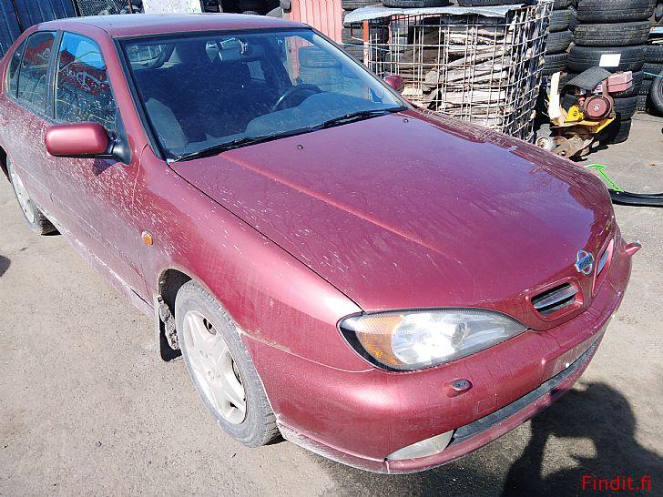 Myydään Nissan Primera 1,8 Hb manuaali 1999 varaosina