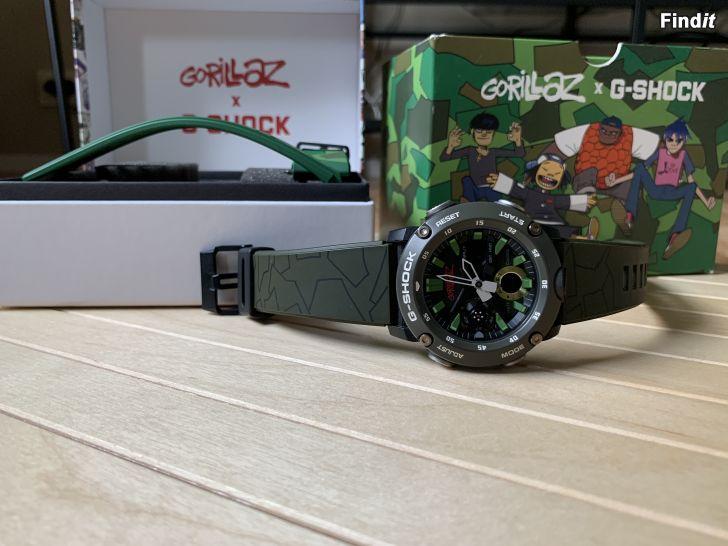 Säljes G-SHOCK Gorillaz Limited Edition