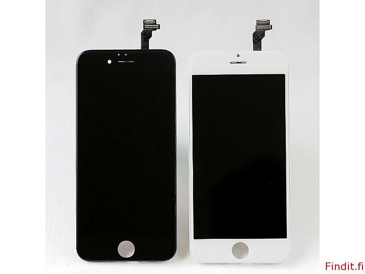 Myydään iPhone näyttö/skärm - kaikki mallit - takuu 12 kk garanti
