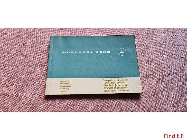 Säljes Mercedes-Benz Instruktionsbok