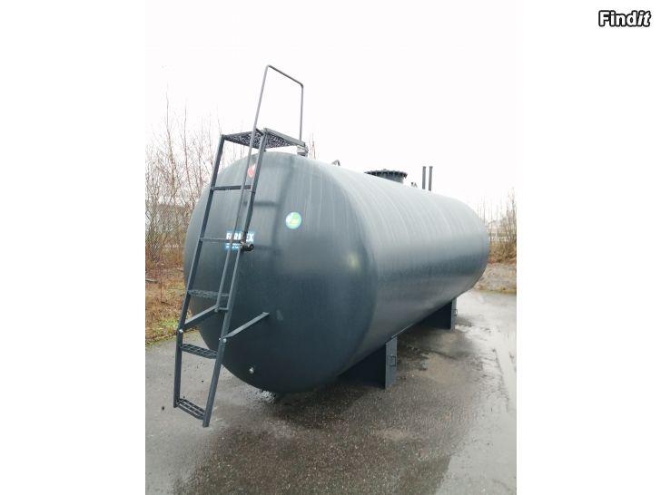 Myydään Tehdaskunnostettu Öljysäiliö 30 000 Lit. 2 osastoa Kaksoisvaipalla