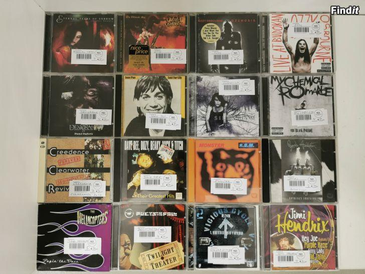 Säljes DVD, CD oc C-kasetter