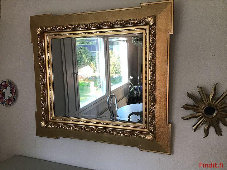 Antiikki hyvin kaunis peili 113 x 101,5
