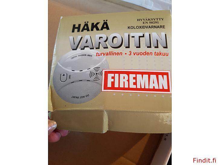 Myydään Ny Fireman varnare