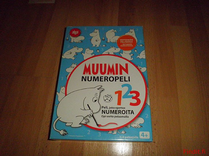Myydään Muumin numeropeli 123 - alga