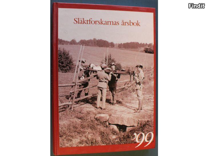 Säljes Släktforskarnas årsbok 1999