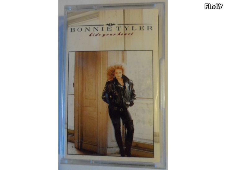 Säljes Bonnie Tyler, Hide your heart. Kassett