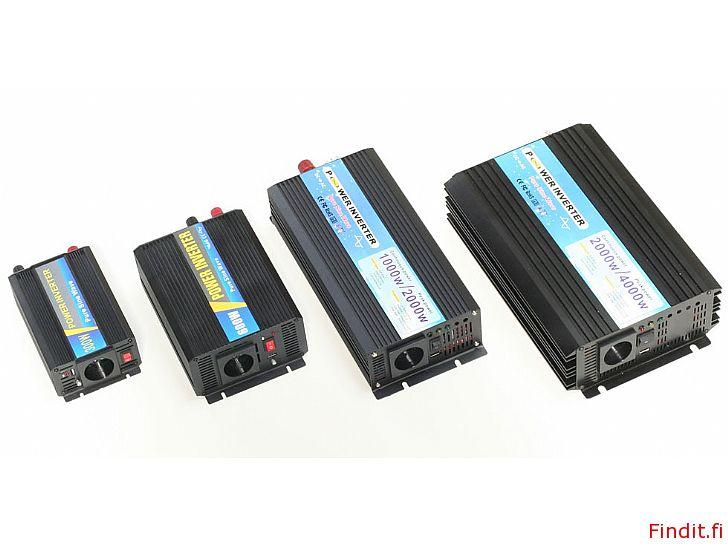 Säljes Inverter ren sinusvåg 300W till 3000W, 2 års garanti