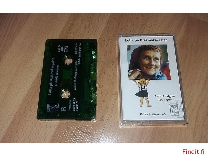 Myydään Lotta på Bråkmakargatan C-kasett