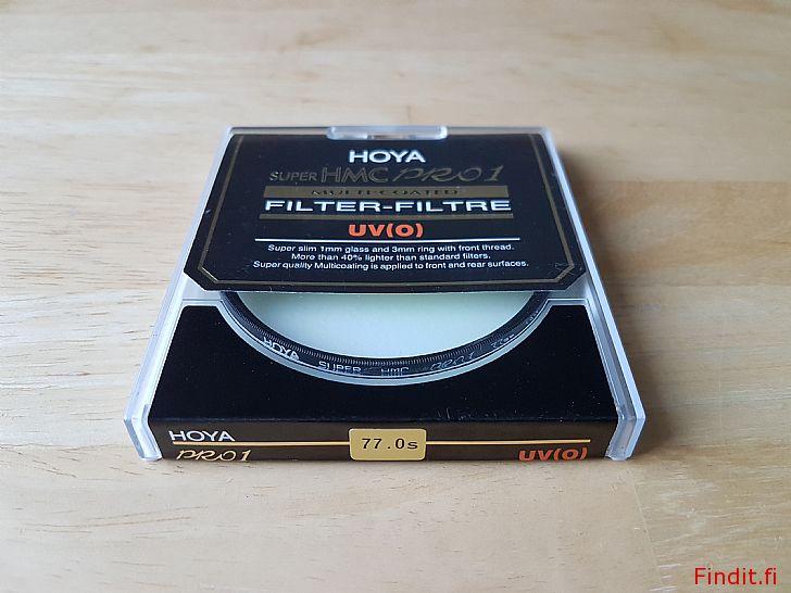 Säljes Hoya UV och ND8 objektiv filter