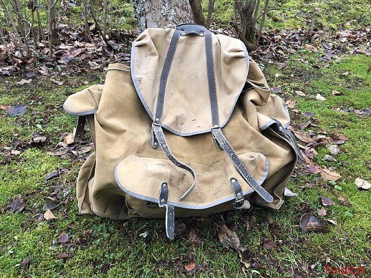 Säljes Retro ryggsäck