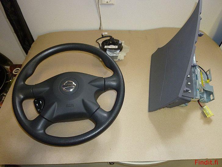 Myydään Nissan Almera Tino purkuosia n. 30 kpl vain nämä listatut osat