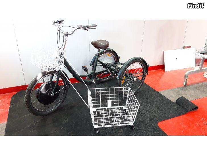 Säljes Trehjuling med eldrift