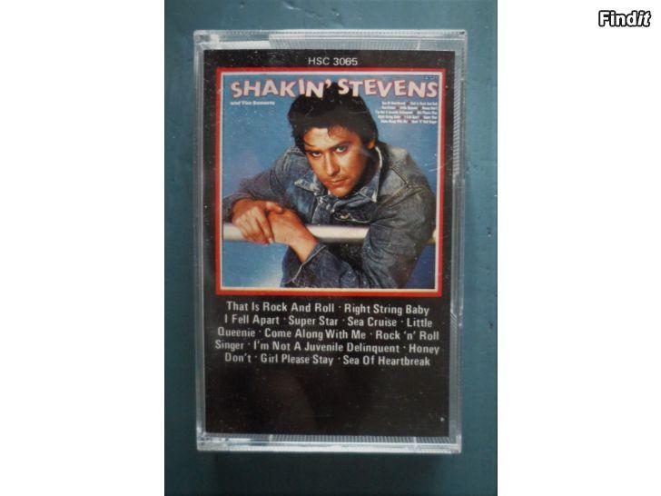 Säljes Shakin Stevens and The Sunsets. Kassett
