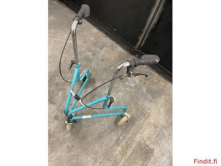 Säljes 3-hjuls rollator
