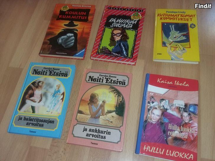 Myydään Lastenkirjoja 6kpl yht 8e tai 2e/kpl