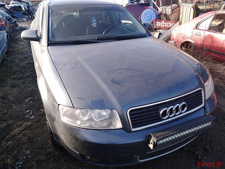 Myydään Audi A4 2,5 TDi manuaali farmari 2002 varaosina