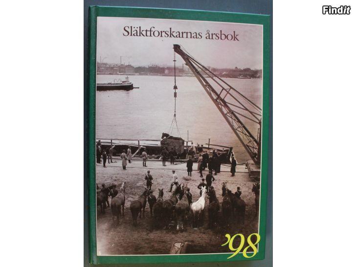 Säljes Släktforskarnas årsbok 1998