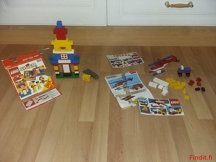 Myydään Lego 315/1 ja 507 vintage 7e/kpl