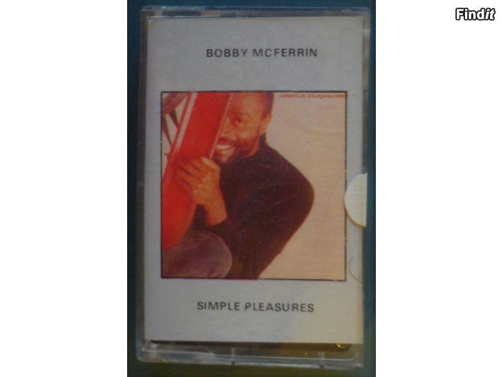 Säljes Bobby McFerrin, Simple pleasures. Kassett