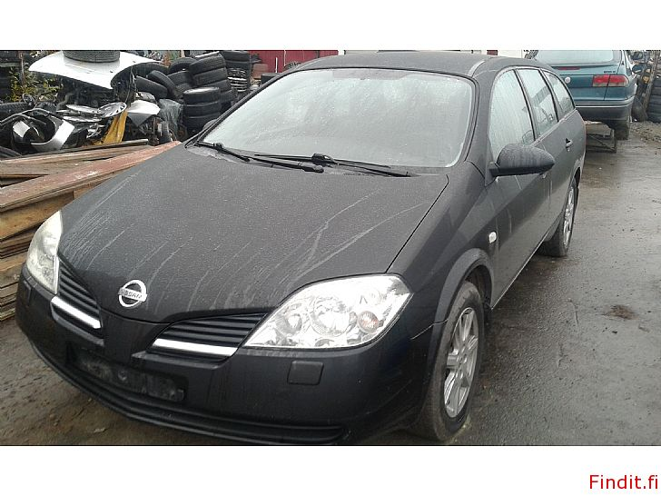 Myydään Nissan Primera 1,6 farmari 2005 ja HB di -04 varaosina molemmat manuaali