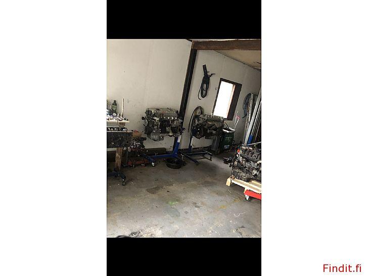 Säljes M104 delar och motorer