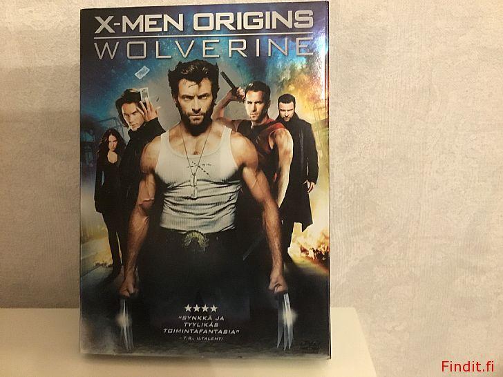 Myydään DVD X-men origins Wolverine