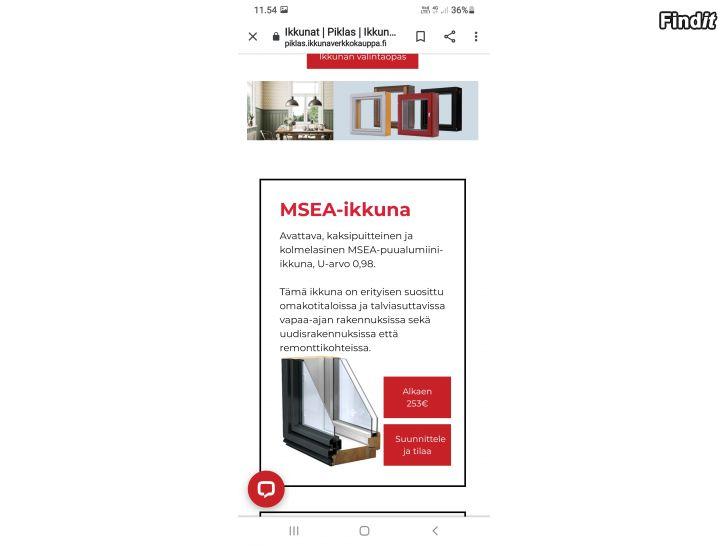 Säljes Fönster av hög kvalitet, Jakobstad