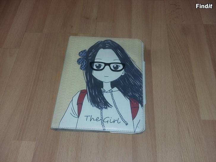 Myydään ipad kotelo The Girl - 5e
