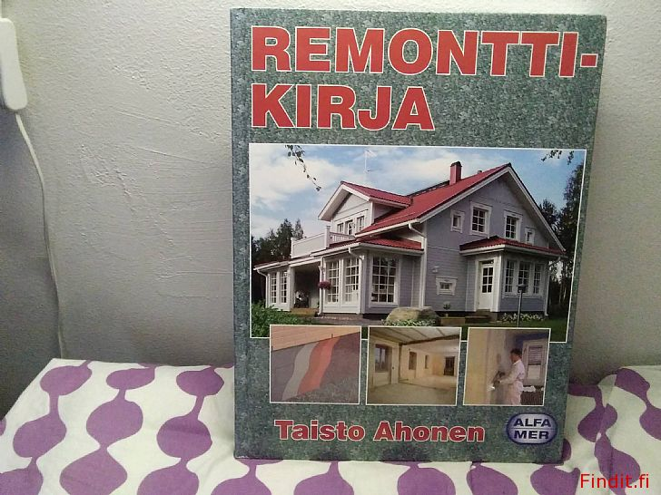 Myydään Remonttikirja, julkaisija Alfamer