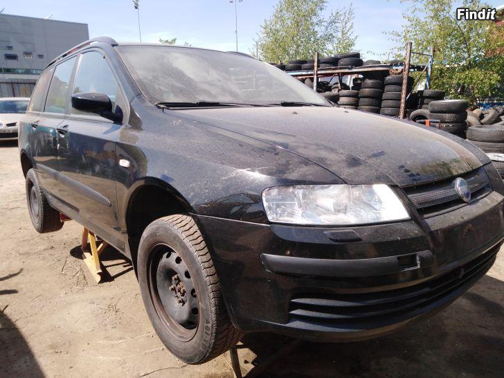 Myydään Fiat Stilo multiwagon 1,6 manuaali 2008 varaosina