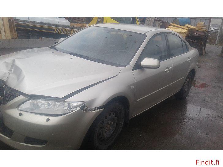 Myydään Mazda 6 1,8 manuaali 2003 varaosina
