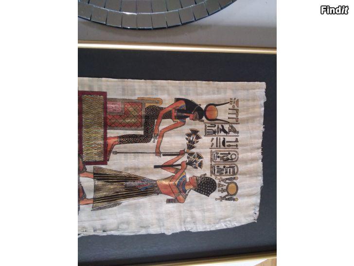 Säljes Papyrus tavla, Jakobstad