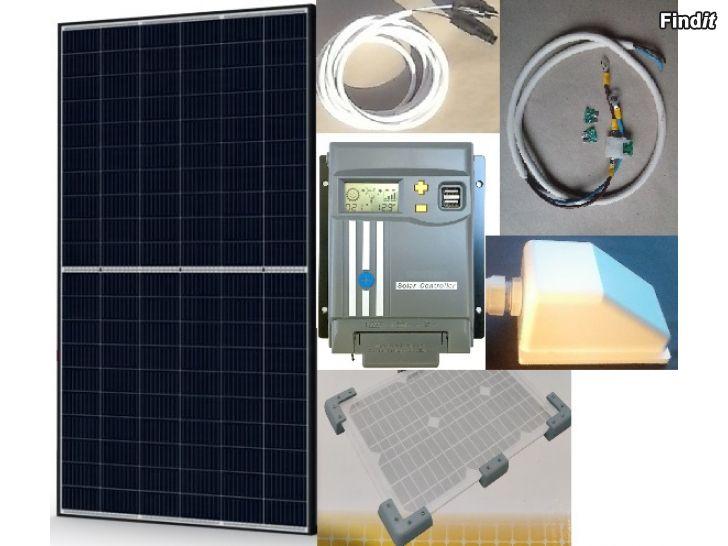 Säljes Solelsystem till husbil eller husvagn 335W, garanti, nytt