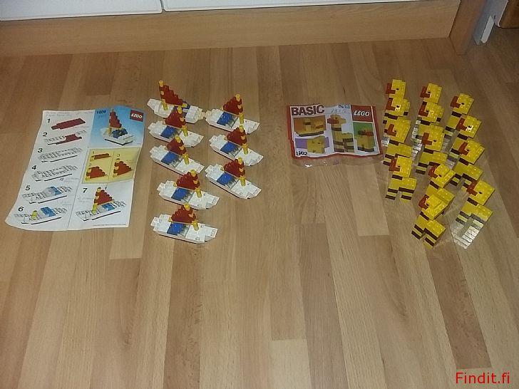 Myydään Lego 1602 ja/tai  1609