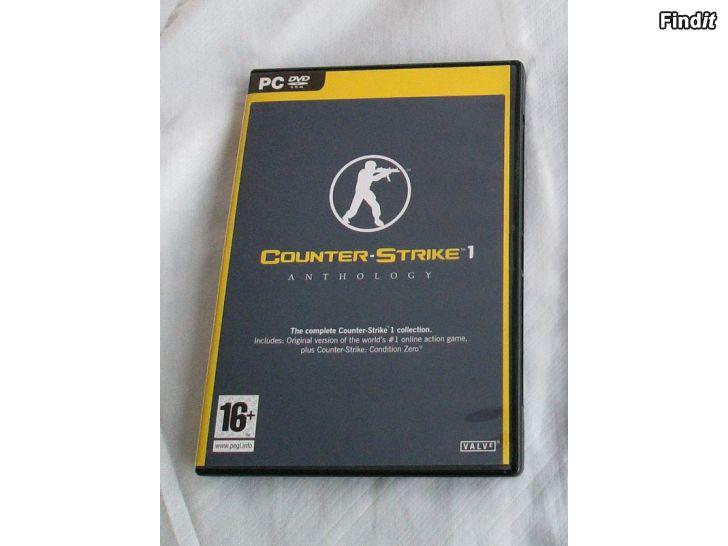 Myydään Videopeli Counter-Strike 1 Anthology, PC DVD Rom